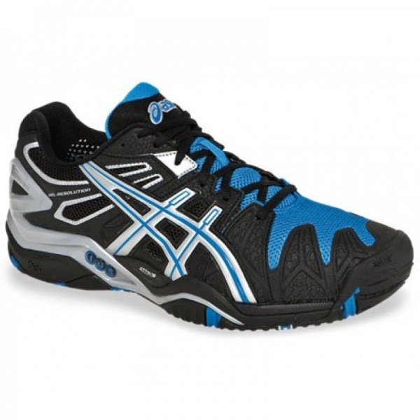 Asics Gel Resolution Gel (noir 5 Clay Resolution (noir/ blanc/ bleu) c43a508 - igoumenitsa.info